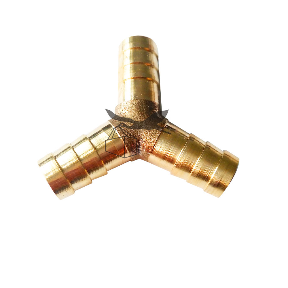Brass Hose Y Joint