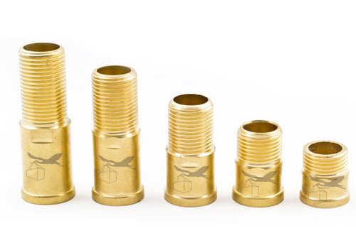 Brass Round Collar Extension Nipple