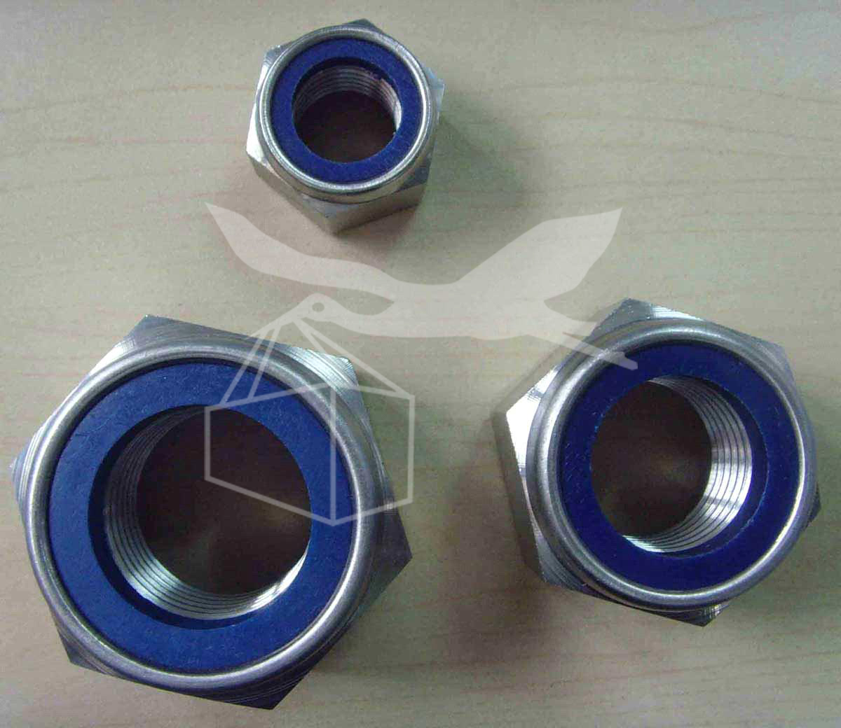 Stainless Steel Nylock Nut Din 985